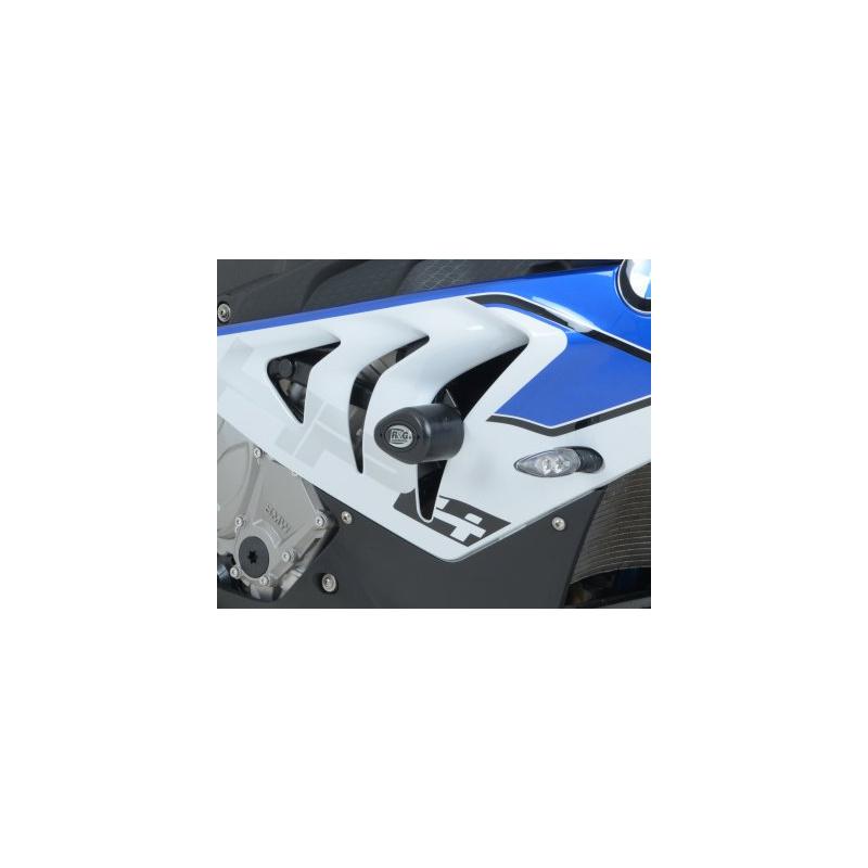 Tampons de protection R&G RACING Aero noir BMW S 1000 RR