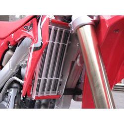 Protection de radiateur AXP alu rouge Honda CRF250R