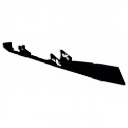 Sabot central AXP PHD 8mm noir/déco bleu Yamaha YFZ450R