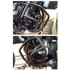 Protection latérales R&G RACING noir Triumph Tiger 800