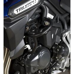 Protections latérales R&G RACING Adventure noir Triumph Tiger 1200 Explorer