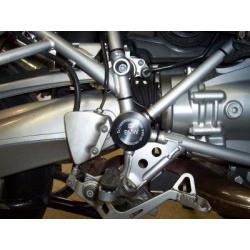 Insert de cadre R&G RACING noir BMW R1200GS