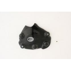 Couvre-carter droit (pompe à huile) R&G RACING noir Yamaha
