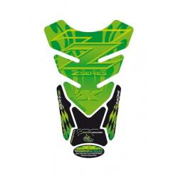 Protection de réservoir MOTOGRAFIX 4pcs vert 4pcs Kawasaki