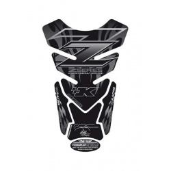 Protection de réservoir MOTOGRAFIX 4pcs noir Kawasaki