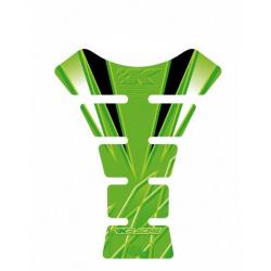 Protection de réservoir MOTOGRAFIX 1pc vert Kawasaki