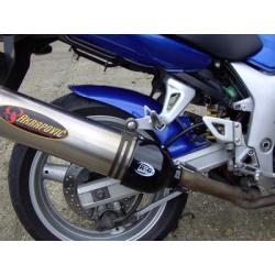 Protection de silencieux ovale droit R&G RACING noir