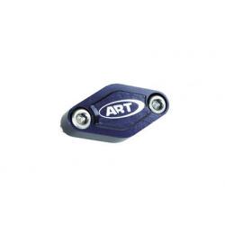 Couvercle étrier frein arrière ART quad bleu