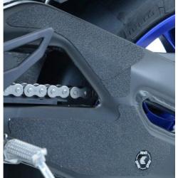 Adhésif anti-frottement R&G RACING cadre/bras oscillant noir 4 pièces Yamaha YZF-R1/R1M
