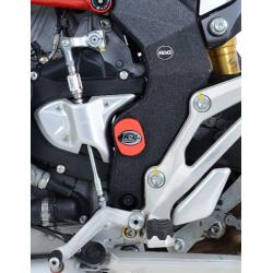 Adhésif anti-frottement R&G RACING cadre noir 2 pièces MV Agusta Turismo Veloce 800