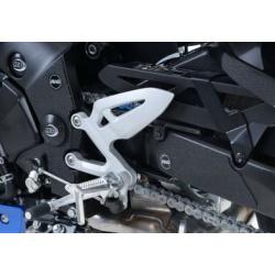 Adhésif anti-frottement R&G RACING cadre/bras oscillant noir 5 pièces Suzuki GSX-S1000/S1000F