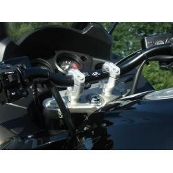 Pontets de guidons pour HONDA CBF1000 '06-08 et TRIUMPH Speed Triple 955i/1050 97-08