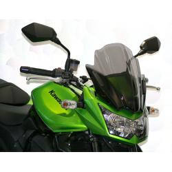 Bulle MRA Racing noir Kawasaki ER-6N/Ducati Diavel