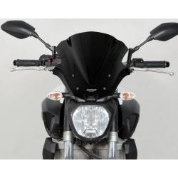 Saute-vent MRA Sport noir Yamaha MT-07