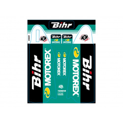 Kit de déco de fourche Bihr/Motorex KUTVEK YAMAHA YZF 250