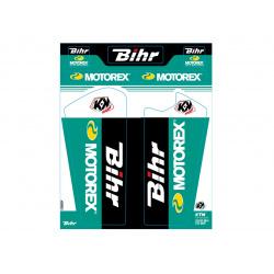 Kit de déco de fourche Bihr/Motorex KUTVEK KTM SX-SXF-EXC