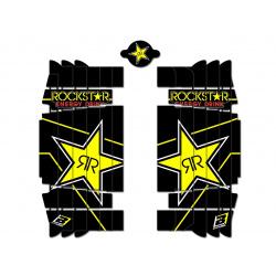 Kit déco de cache radiateur BLACKBIRD Rockstar Energy Husqvarna TC/FC