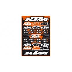 Planche de stickers BLACKBIRD KTM