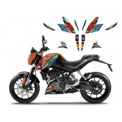 Kit déco BLACKBIRD Onerace KTM 125/200/390 Duke