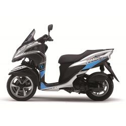 Kit déco Cooper Kutvek blanc/bleu Yamaha Tricity 125