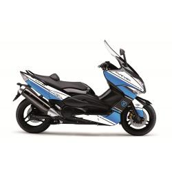 Kit déco Cooper Kutvek blanc/bleu Yamaha T-Max 500