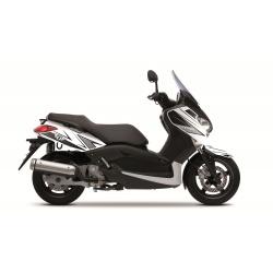 Kit déco Velocity Kutvek blanc/noir Yamaha X-Max 125/250