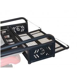 Porte-bagages arrière Kolpin modulable noir