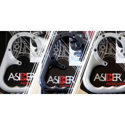 Poignée de réservoir A-SIDER Black Edition 5 vis noir Yamaha YZF-R1/YZF-R6