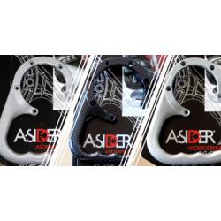 Poignée de réservoir A-SIDER Black Edition 7 vis noir Honda