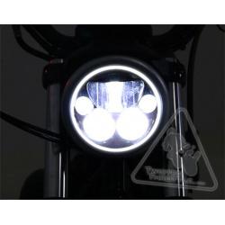 Phare DENALI M5 LED Ø145mm noir chrome