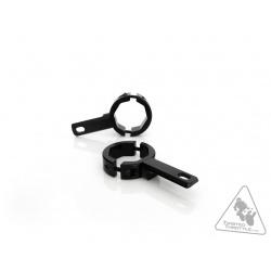 Support éclairage DENALI tubes de fourche Ø39-49mm noir