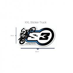 Autocollant S3 Trial 60x30cm