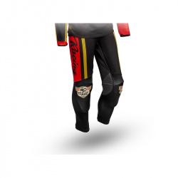 Pantalon S3 Vint rouge/noir taille 46