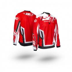 Maillot S3 Racing Team enfant rouge/noir taille YXS