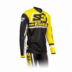 Maillot S3 Vint jaune/noir taille XL