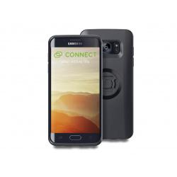 Pack complet SP-CONNECT Moto Bundle fixé sur guidon Samsung S7 Edge