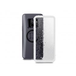 Pack complet SP-CONNECT Moto Bundle fixé sur guidon Samsung S9