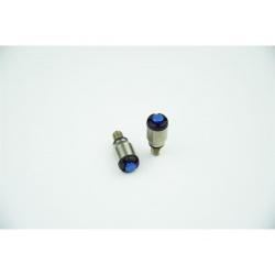 Purgeur de fourche SCAR bleu M5x0,8mm fourches KYB/Showa