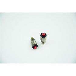 Purgeur de fourche SCAR rouge M5x0,8mm fourches KYB/Showa