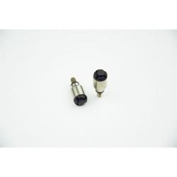 Purgeur de fourche SCAR noir M4x0,7mm fourches WP/Marzocchi/Öhlins