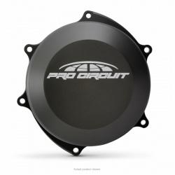 Couvre-carter (embrayage) PRO CIRCUIT aluminium noir Yamaha YZ250F