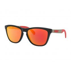 Lunettes de soleil OAKLEY Frogskins®Mix Moto GP Collection Matte Black verres PRIZM™ Ruby