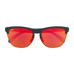 Lunettes de soleil OAKLEY Frogskins®Lite Maverick Vinales Signature Series Matte Black verres PRIZM™ Ruby