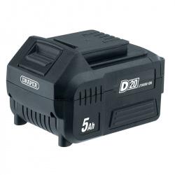 Batterie DRAPER D20 20V 5.0Ah Lithium-Ion