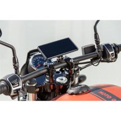 Support de montage SP-CONNECT Moto Mount Pro sur pontet noir