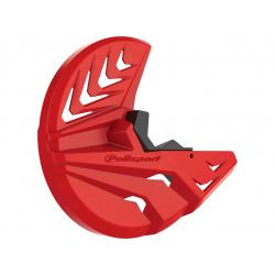 Protection de disque POLISPORT rouge / noir