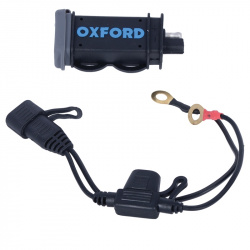 Kit chargeur OXFORD USB Fused Power 2,1A
