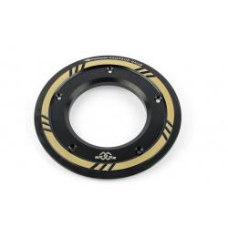Cache courroie GILLES TOOLING noir Yamaha T-Max 530/560