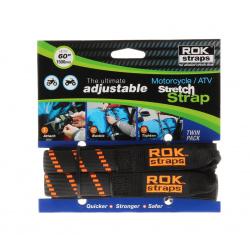 Sangle ROK Stretch réglable noir/orange