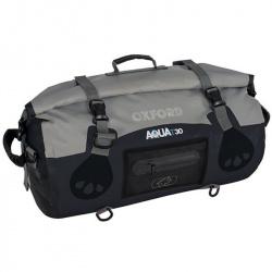 Sacoche OXFORD Aqua T-50 Marine Roll Bag noir/gris 50L